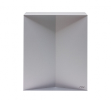 Metal Cabinet 60 Silver
